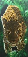"Cheetah Beach Towel 100% Cotton 30""X 60"""