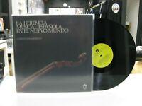 La Herencia Musical Española En El Nuevo Mundo LP Quartett Renaissance 1984