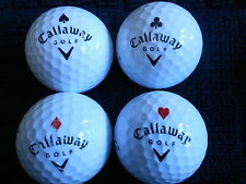 "10 CALLAWAY ""BIG BERTHA ACE"" - BLACK TICK - Golf Balls - ""PEARL/A"" -VERY RARE."