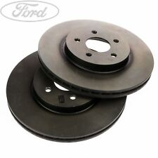 Genuine Ford Mondeo MK3 Front Vented Brake Discs Pair 300mm 00-07 x2 1681578