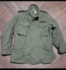 1967 M65 Military Field Jacket Med Reg Kent Manufacturing. Vietnam Gem