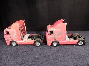 New Ray Freightliner C.O.E. Cabover Truck 1:32 Scale Vintage and Rare -LOT OF 2-