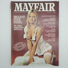 Vintage Mayfair Men's Adult Glamour Magazine - Vol. 11 No. 12 - 1976