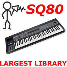 Ensoniq SQ-80 SQ80 Fast Access - Sounds Programs Patches Largest Library