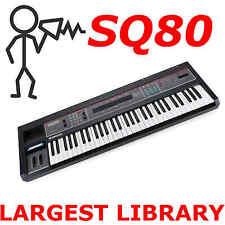 Ensoniq SQ-80 SQ80 SoundEngine Rebuild Largest Patch Sound Program Library