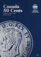 Whitman Canadian 50 Cent Coin Folder 1937-1952 Volume 3 #4011