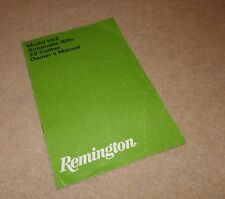 Authentic Remington Model  522 Automatic .22 Rifle Owners manual A5