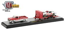 1:64 M2 Machines *AUTO-HAULERS 38* 1969 Ford F-100 1966 Mustang Gasser & Trailer