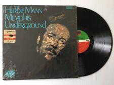 HERBIE MANN «MEMPHIS UNDERGROUND»ATLANTIC 1969 JåzZ~FüS!øÑ<~EXC(+)/Shrink