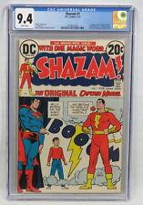 DC Comics Shazam #1 CGC 9.4 W/P 1st Captain Marvel Denny O'Neil CC Beck 1973