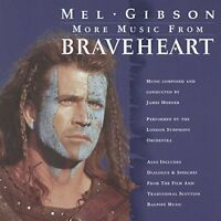 James Horner Braveheart-More music (soundtrack, 1997) [CD]