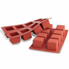 Quadratische Backbleche & -formen aus Silikon