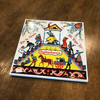 """Vintage Swedish Berggren-Trayner Trivet Tile #143 - The Youth Mill - 6"""" X 6"""""""