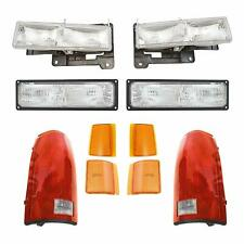 FOR CHEVY TAHOE 1995 1996 1997 1998 1999 HEADLIGHT PARKING MARKER TAIL LAMPS 10X