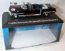 Cadillac Limosine Queen Elizabeth 11 Paris 1959 D. Eisenhower  1-43 new Norev