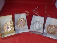 US Seller - NEW Harry Potter Time Turner Hermione Granger necklace 4 color SET !