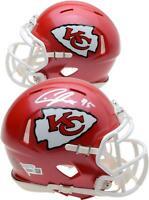 Chris Jones Kansas City Chiefs Autographed Riddell Speed Mini Helmet