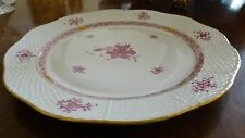 Herend Chinese Bouquet Raspberry Chop Plate