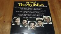 The Best Of The Stylistics Vinyl LP Compilation Avco – 9109 003 1974