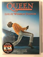 Queen - The DVD Collection: Live At Wembley Stadium (DVD, 2003, 2-Disc Set)