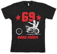 Easy Rider 1969 Wyatt Chopper Biker Motorrad Männer Men T-Shirt Weiss