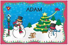 Christmas Placemat - Adam