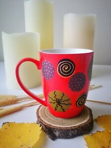 "Tea or coffee mug ""Bubbles"""