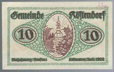Notgeld - Österreich - Gemeinde Köstendorf - 10 Heller - 1920