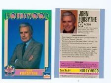 20 of the same John Forsythe Hollywood Walk Of Fame card Charlie's Angels #84