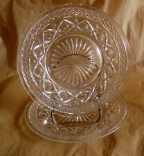 Imperial CAPE COD Clear Glass Salad/Dessert Plates - Set of 2