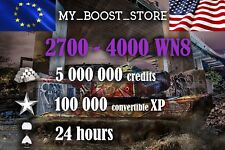 World Of Tanks(WOT) 5 MILL. and 100.000XP UNICUM PLAY | 24 hours| NOT BONUS CODE