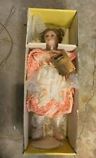"Seymour MANN 21"" AMANDA COLLECTION Porcelain Doll MIB"
