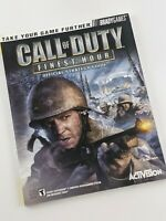 Call of Duty: Finest Hour Strategy Guide (2004) | PlayStation 2 & Xbox Versions
