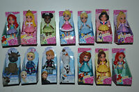 NEW 2017 DISNEY POSEABLE PRINCESS MINI TODDLER DOLLS SPARKLE COLLECTION-FROZEN-