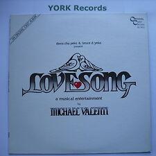 LOVESONG - Original Cast Recording - Ex Con LP Record Original Cast OC 8022