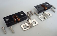 1932 to 1936 Ford Roadster Black Female & Stainless Male Door Dovetails Kit