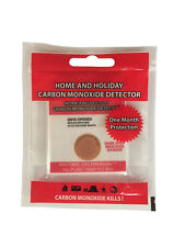 CO Carbon Monoxide Detector Patches Indicator Stick on. Singles or Doubles
