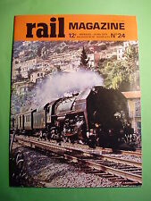 Chemin de fer RAIL Magazine n°24 Essais TGV 1979