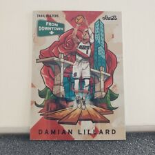 "2016 PANINI STUDIO DAMIAN LILLARD SSP ""FROM DOWNTOWN"""
