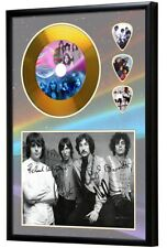 Pink Floyd Gold Look CD, Autograph & Plectrum Display - Best Price on eBay