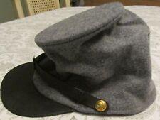 Civil War Reenactor Csa Confederate Wool Kepi. Brand New. Size Small