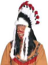 Indianer Häuptling Kopfbedeckung NEU - Karneval Fasching Hut Mütze Kopfbedeckung