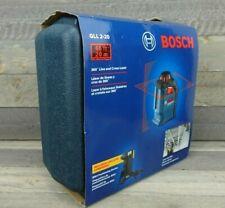 Bosch 65 Ft Red Beam Self Leveling Cross Line 360 Laser Level Gll 2 20