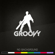 ASH vs Evil Dead Decal Sticker | GROOVY | Army of Darkness | Choose color