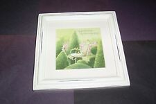 "Marjolein Bastin White Wash Frame ""My Garden Place My Dreaming Space"" 1Nsf1034"