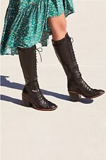 New Free People X Jeffrey Campbell Jack Lace-Up Boot Sz 5