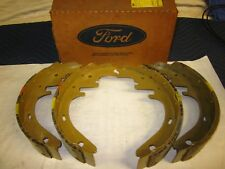 NOS 1979-91 Ford LTD Country Squire Wgn Mercury Marquis Lincoln Rear Brake Shoes