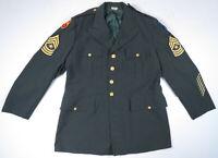 Vintage US Army Vietnam Tropical AG-344 Class 3 DSA-100-14 Uniform Jacket 46L