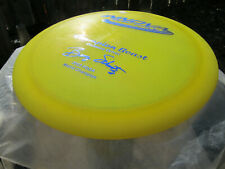 Beast Rare Blue 2003 stamp on a New 171g Champion Pearl Yellow Oop Golf Disc