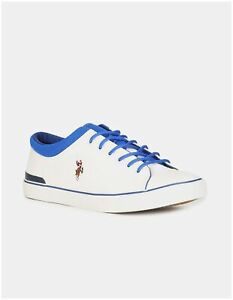 US Polo Assn. Hommes White Classic Sneakers - 2532007612-zHw